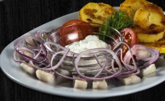 Селедочка с картофелем по домашнему